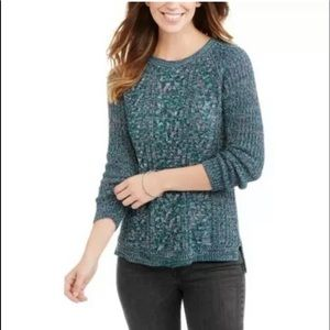 SWEATER in antique teal
